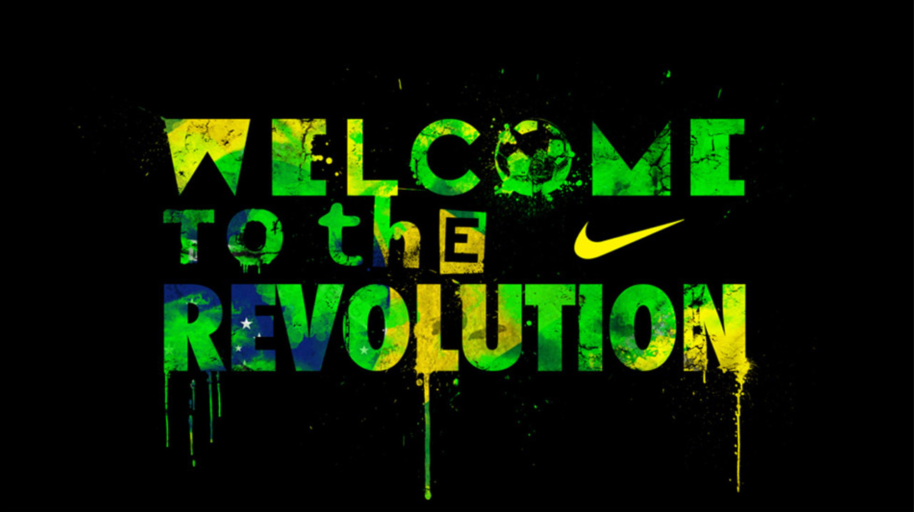 NIKE • WELCOME TO THE REVOLUTION